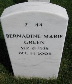 Bernadine Marie Green
