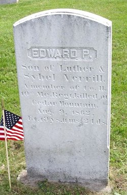 Edward P Verrill