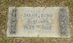 Sarah King Sweet <i>Bobo</i> McKelvey