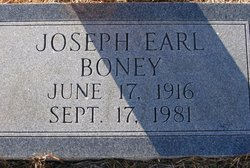 Joseph Earl Boney