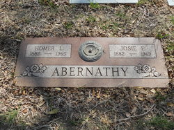 Josephine Emily Josie <i>Carter</i> Abernathy