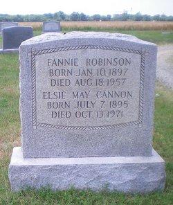Elsie May <i>Robinson</i> Cannon