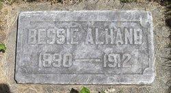 Bessie <i>Lyttle</i> Alhand