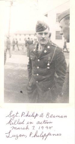 Sgt Philip Alden Beaman