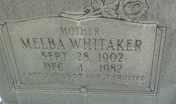 Melba <i>Whitaker</i> Staples