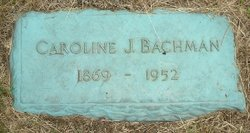 Caroline J <i>Bauer</i> Bachman