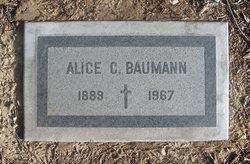 Alice Cecelia <i>Clark</i> Baumann