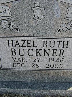 Hazel Ruth Buckner
