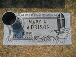 Mary Alice <i>Grayer</i> Addison