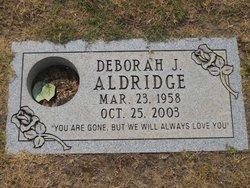 Deborah J Aldridge