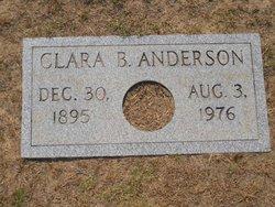 Clara B Anderson