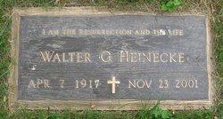 Walter Edward George Heinecke
