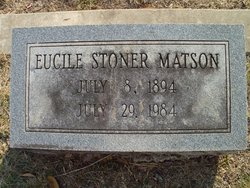 Ann Eucile Cile <i>Stoner</i> Matson