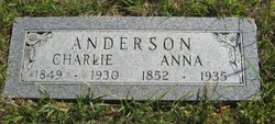 Louisa Anna Anna <i>Nelsen</i> Anderson
