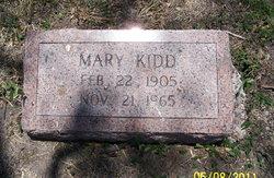 Mary <i>Kidd</i> Anderson