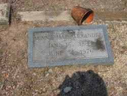 Minnie Mae <i>Lock</i> Alexander