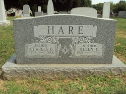 Helen D <i>Wentzel</i> Hare