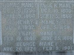 Henry B Maney