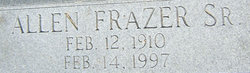 Allen Frazer Edmonds, Sr