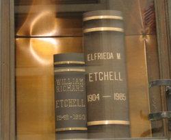 Elfrieda Martha <i>Wichmann</i> Etchell