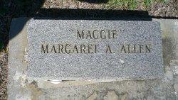Margaret Catharine Maggie <i>Aymar</i> Allen
