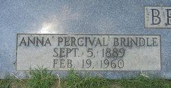 Anna <i>Percival</i> Brindle