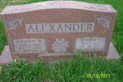 Rowena <i>Snyder</i> Alexander
