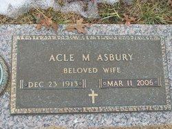 Acle <i>Jones</i> Asbury