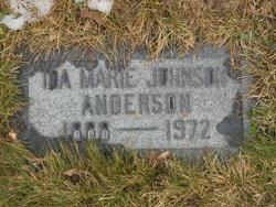 Ida Marie <i>Johnson</i> Anderson