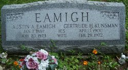 Gertrude Helen <i>Kunsman</i> Eamigh