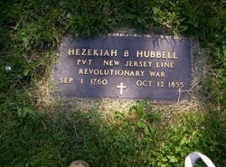 Pvt Hezekiah Hubbell