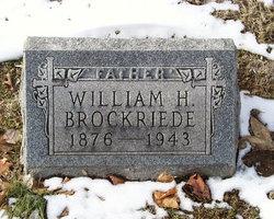 William H Brockriede