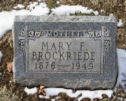 Mary Frances <i>Head</i> Brockriede