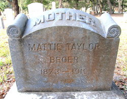 Martha Mattie <i>Taylor</i> Broer