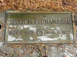 Edith Mae <i>Thomas</i> DeChambeau
