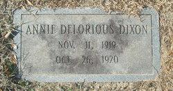 Annie Delorious Dixon
