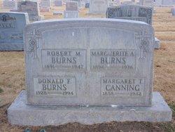 Marguerite Agnes <i>Mulligan</i> Burns