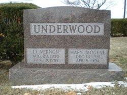 Mary Imogene Jean <i>Gibson</i> Underwood