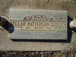 Beulah <i>Patterson</i> Gedlich