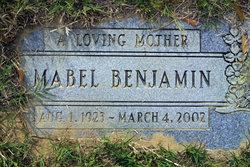 Mabel Benjamin