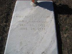 Mary Alice <i>Laramore</i> Hammond