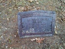 Leonard Jenning Buss Brown