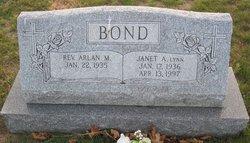 Janet A. <i>Lynn</i> Bond