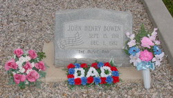 John Henry Bowen