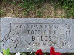Matthew Eugene Bales