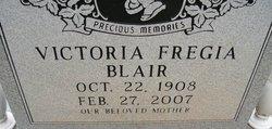 Victoria <i>Fregia</i> Blair
