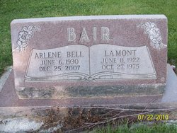 Arlene <i>Bell</i> Bair
