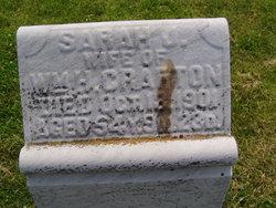 Sarah Jane <i>Lawson</i> Crafton