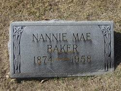 Nannie Mae <i>McDade</i> Baker