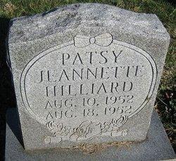 Patsy Jeannette Hilliard